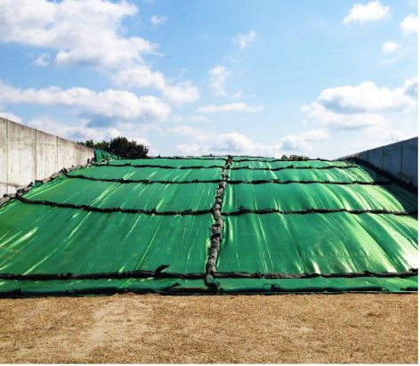 How to reduce clamp plastic and make better wholecrop silage